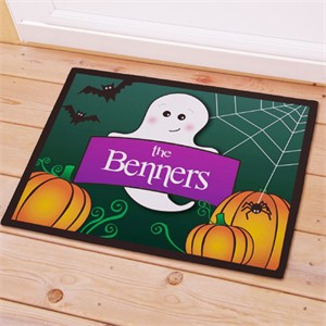 Personalized Ghost Doormat - Large