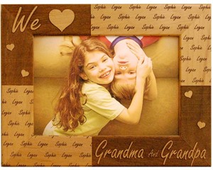 Personalized Grandparents Frame
