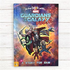 Personalized Guardians of the Galaxy 2 Book