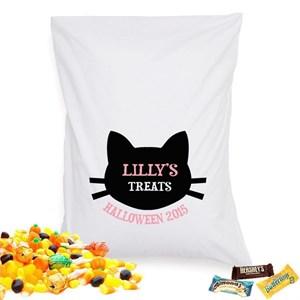 Personalized Halloween Treat Pillowcase