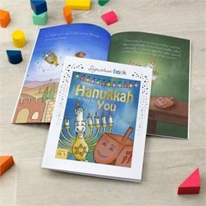Personalized Hanukkah Story Book