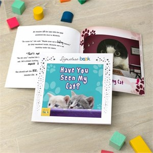 Personalized Have You Seen My Cat Book