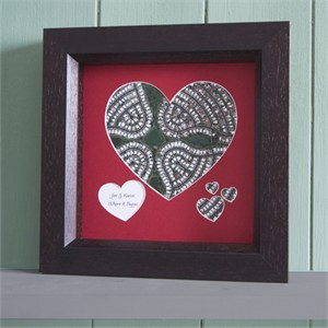 Personalized Heart Aerial Map
