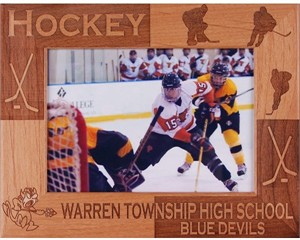 Personalized Hockey Frame