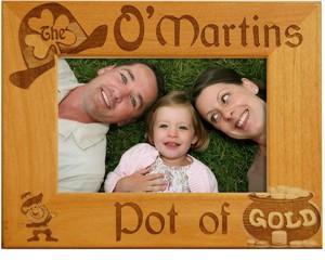 Personalized Irish Family Frame
