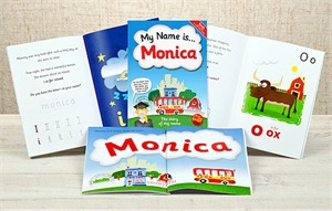 Personalized Kids Book - My Name Is