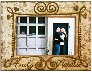 Personalized Love Frame