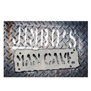 Personalized Man Cave Door Mat