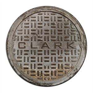 Personalized Manhole Cover Door Mat