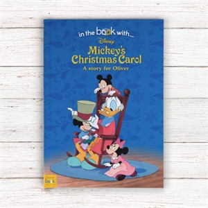 Personalized Mickey's Christmas Carol Book