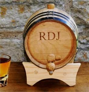 Personalized Mini Whiskey Barrel