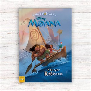 Personalized Moana Book
