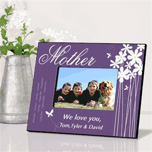 Personalized Mother Picture Frame - Bloomin Butterfly
