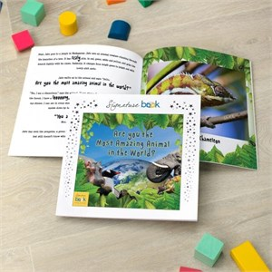 Personalized Most Amazing Animal Book