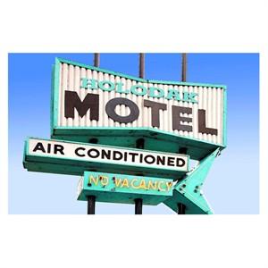 Personalized Motel Door Mat