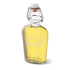 Personalized Olive Oil Glass Bottle