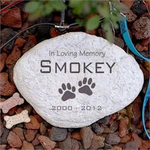 Personalized Pet Memorial Stone - Large