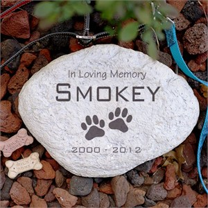 Personalized Pet Memorial Stone - Small