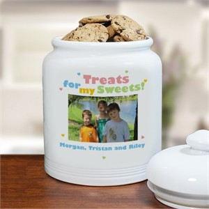 Personalized Photo Cookie Jar