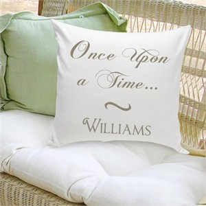 Personalized Pillow - Once Upon A Time
