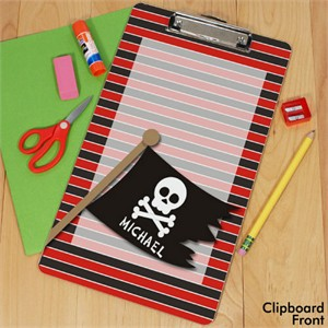 Personalized Pirate Clipboard