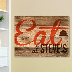 Personalized Restaurant Sign