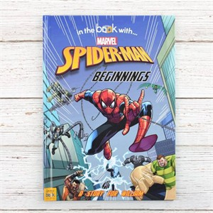 Personalized Spiderman Beginnings Book