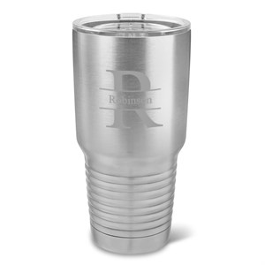 Personalized Stainless Steel Tumbler - 30 oz