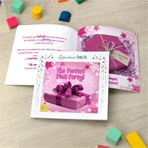 Personalized The Perfect Pink Party Book