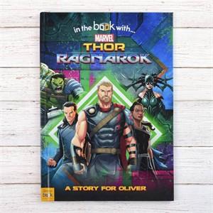 Personalized Thor Ragnarok Book