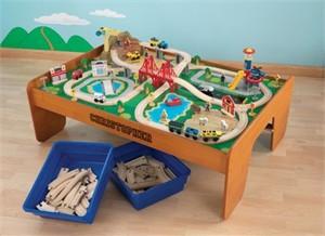 Kidkraft Personalized Train Table U0026 Set