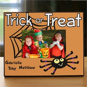 Personalized Trick or Treat Frame