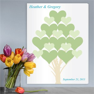 Personalized Wall Art - Branches of Love