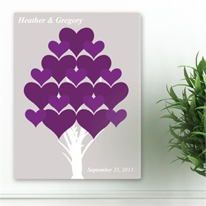 Personalized Wall Art - Forever Hearts