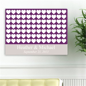 Personalized Wall Art - Heartful Wishes