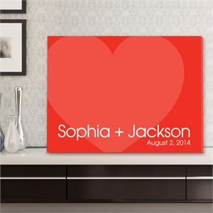 Personalized Wall Art - Love For Ever