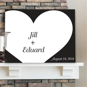 Personalized Wall Art - Shadow of Love