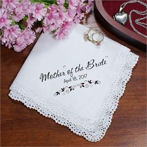 Personalized Wedding Ladies Handkerchief