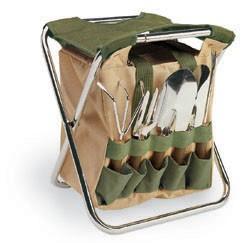 Picnic Time Gardener Folding Seat