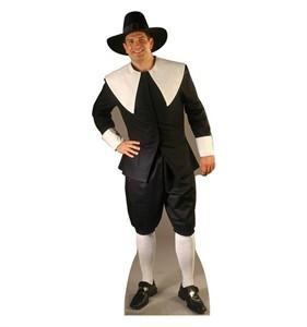 Pilgrim Man Cardboard Cutout