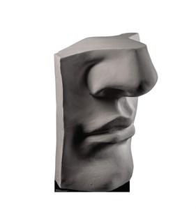 Plaster Face Cardboard Cutout