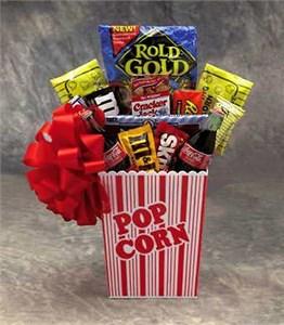 Popcorn Pack Gift Basket