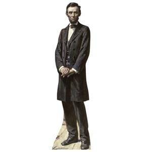 President Lincoln The Gettysburg Address Cardboard Cutout