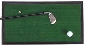 Hitting Golf Mat