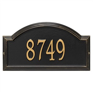 Personalized Providence Arch Address Plaque - 1 Line