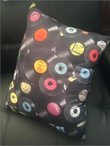 Record Pillow
