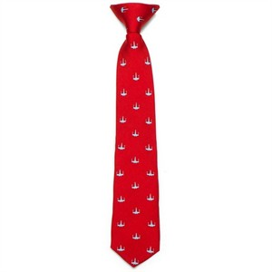 Red X-Wing Boys Tie