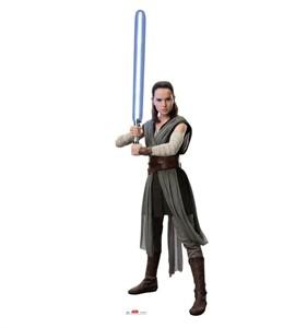 Rey Star Wars VIII The Last Jedi Cardboard Cutout