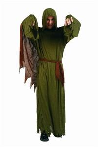 Adult Zombie Costume - Crinkle Robe, Sash