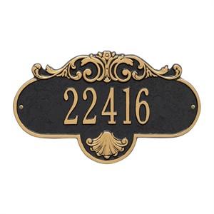 Personalized Rochelle Address Plaque - 1 Line
